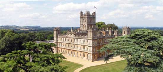 Highclere Castle, Berkshire Filming Locations