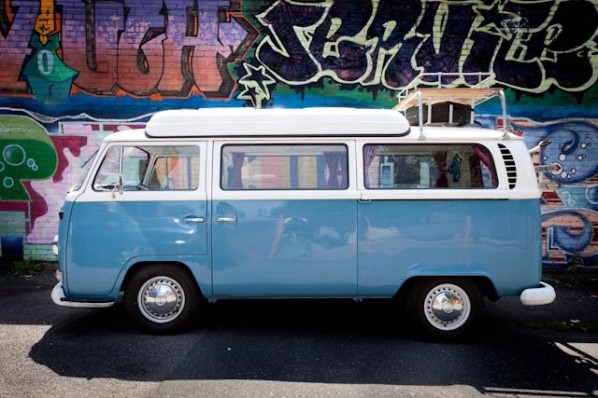 1971 VW campervan