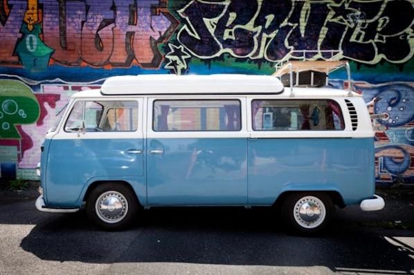 1971 VW campervan