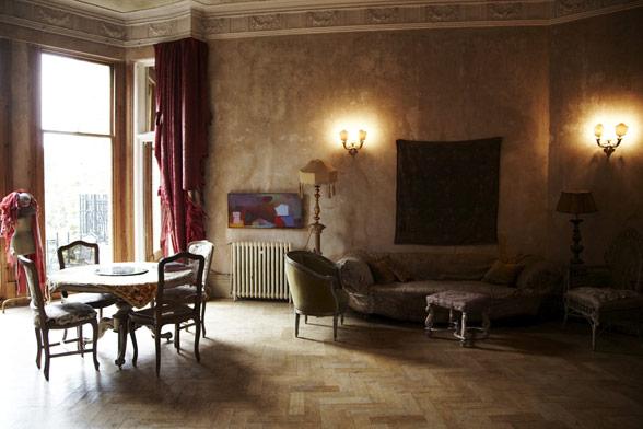 GARY BARLOW shoot at our London apartment…