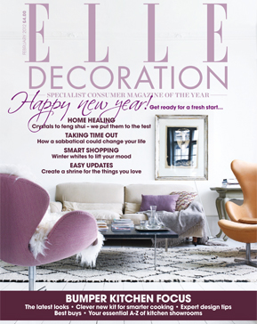 Elle Decoration Magazine shooting at one of our london locations