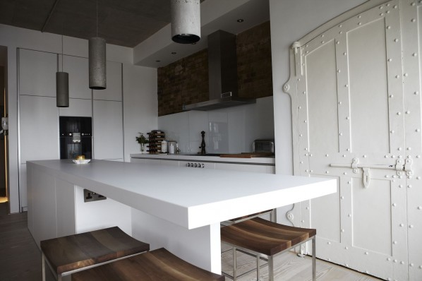 warehouse conversion kitchen