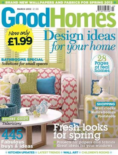 Good Homes Magazine studio photo shoot…London