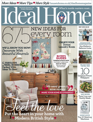 Ideal home Magazine photo shoot London studio…
