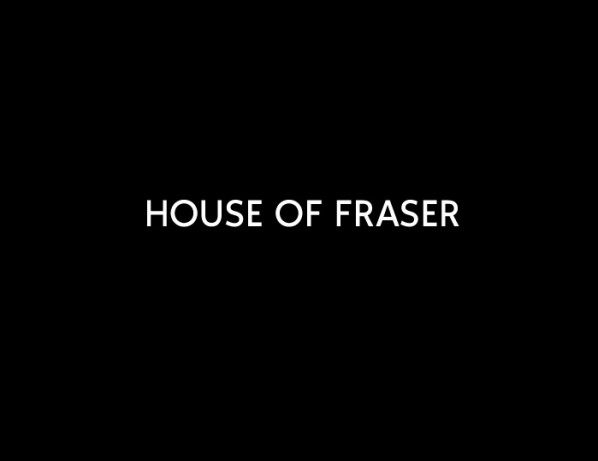 House of Fraser photo shoot…Location House