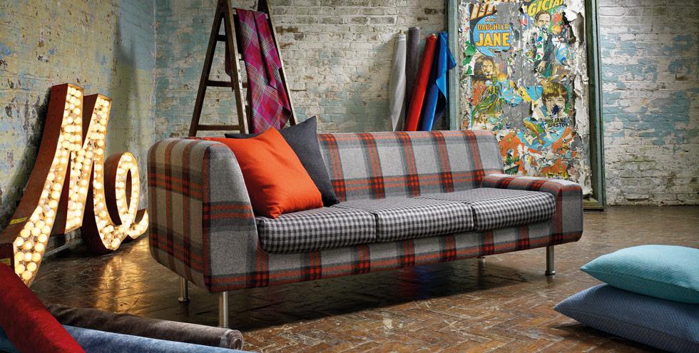 Kirkbydesign photo shoot london location shootfactory - Telas para tapizar sofas ...