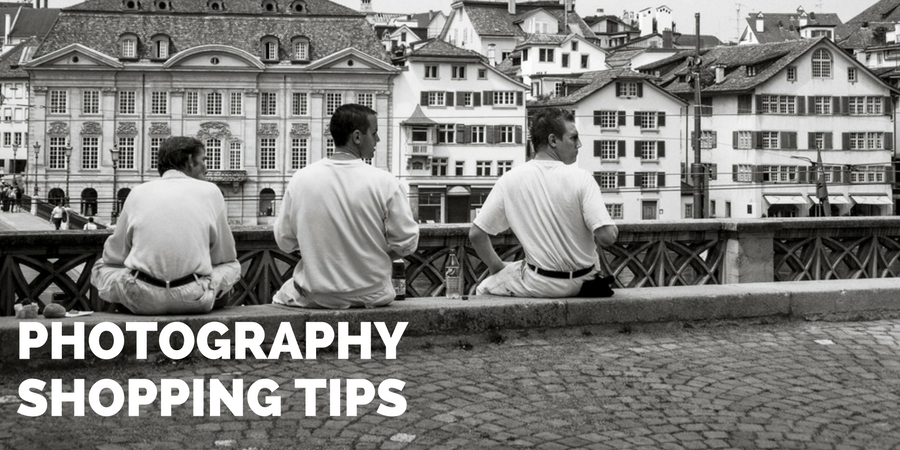 shopping tips when buying photography equipment