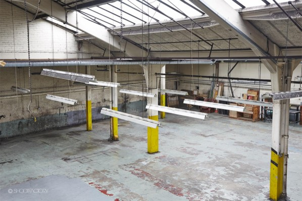 Industrial photo shoot locations