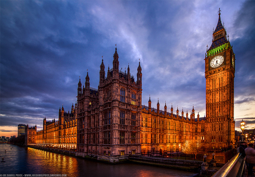 London houses of parliament filming location