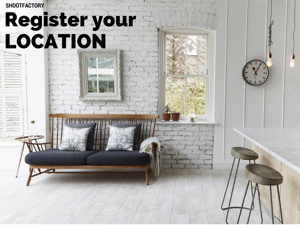 Register your Property as a Shoot Location - Shootfactory