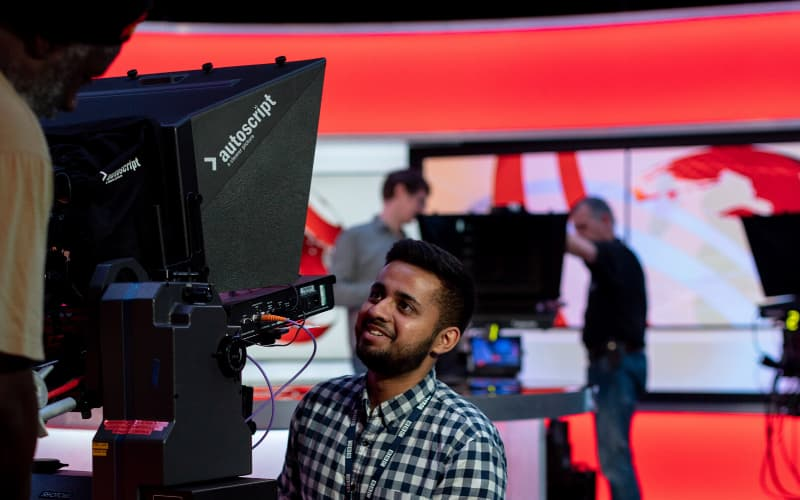 Foot On The TV Production Career Ladder - TV Studio - Shootfactory