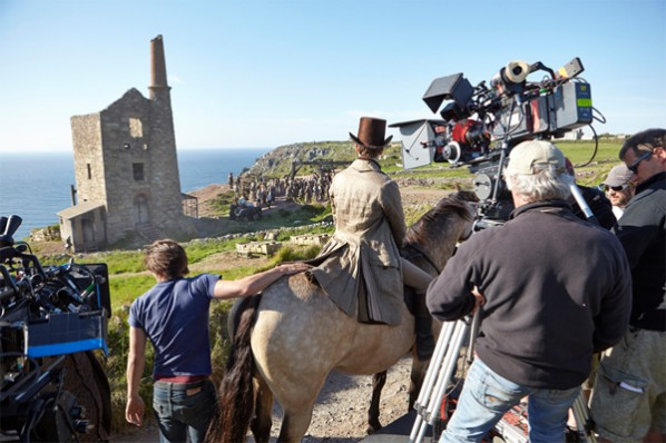 Poldark's Filming Locations in Cornwall Increasing Tourism