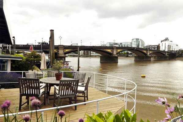 Houseboat on the Thames