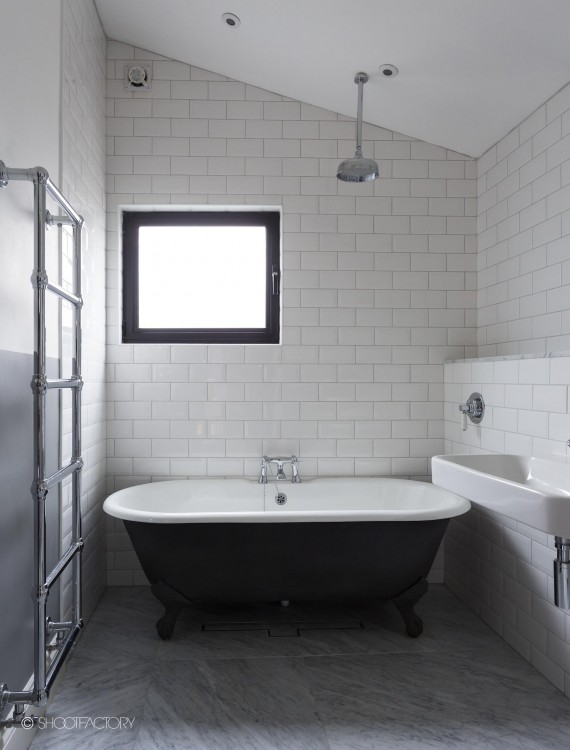 Suave and sophisticated bathrooms a perfect photo shoot backdrop