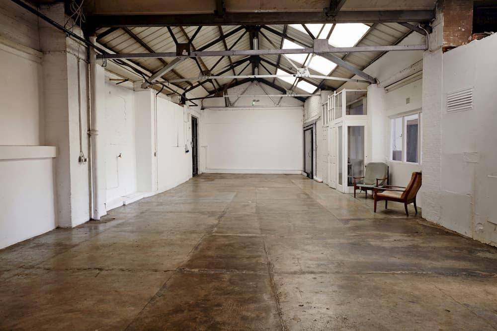 Clapton, London, E5 - Warehouse Studio Location - SHOOTFACTORY