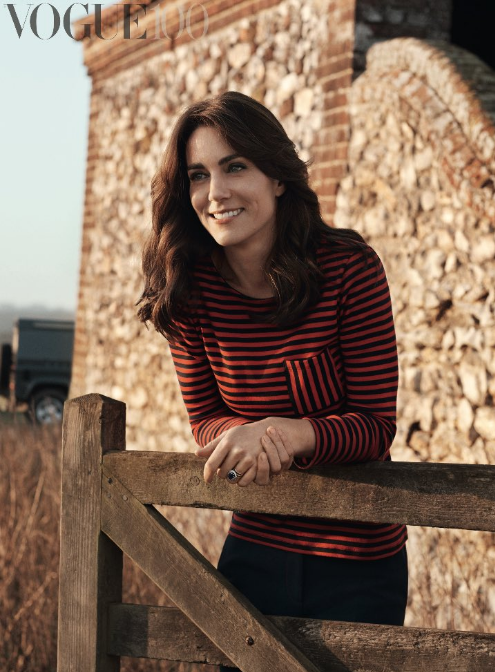 Vogue Photoshoot Kate