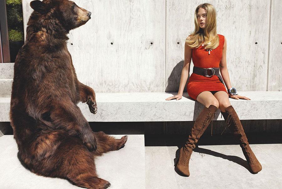 Vogue Magazine Photoshoot by Mario Testino