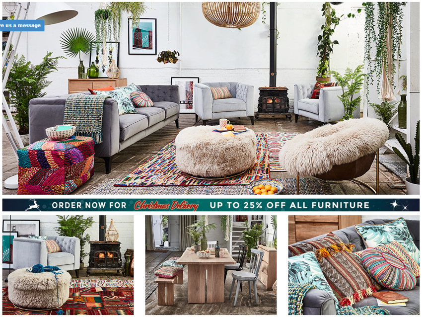Autumn Interior Trends - Barker and Stonehouse - Photo Shoot Location
