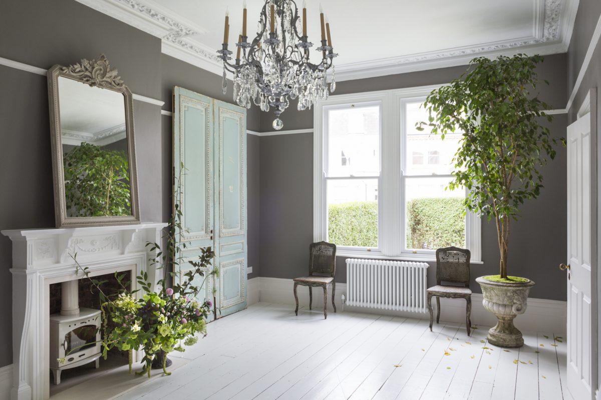 Kempe SW16 - grey room - london houses - shootfactory location