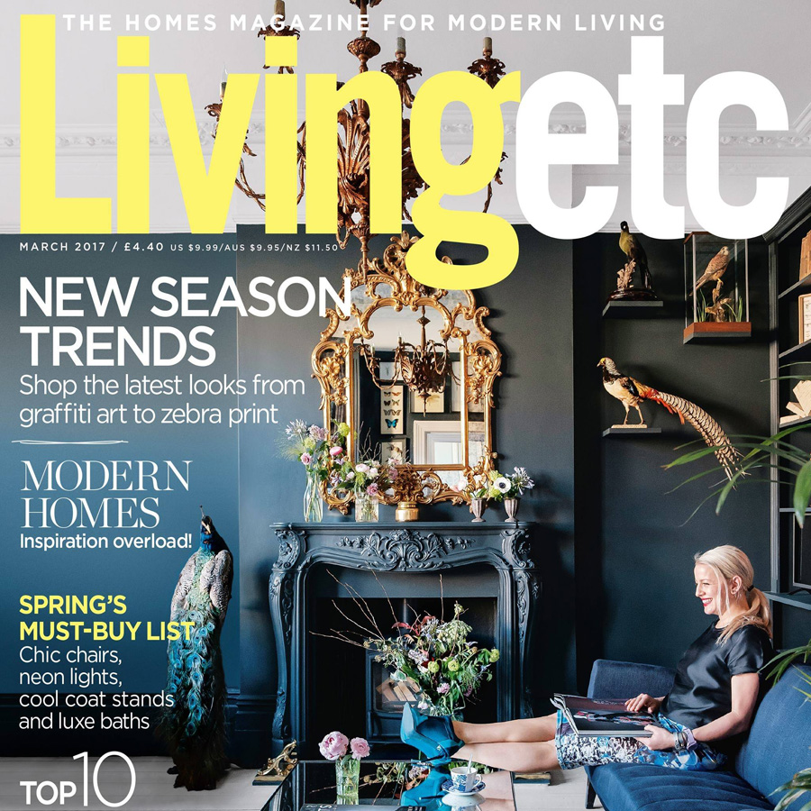 Livingetc Magazine Location House Featured on Front Cover