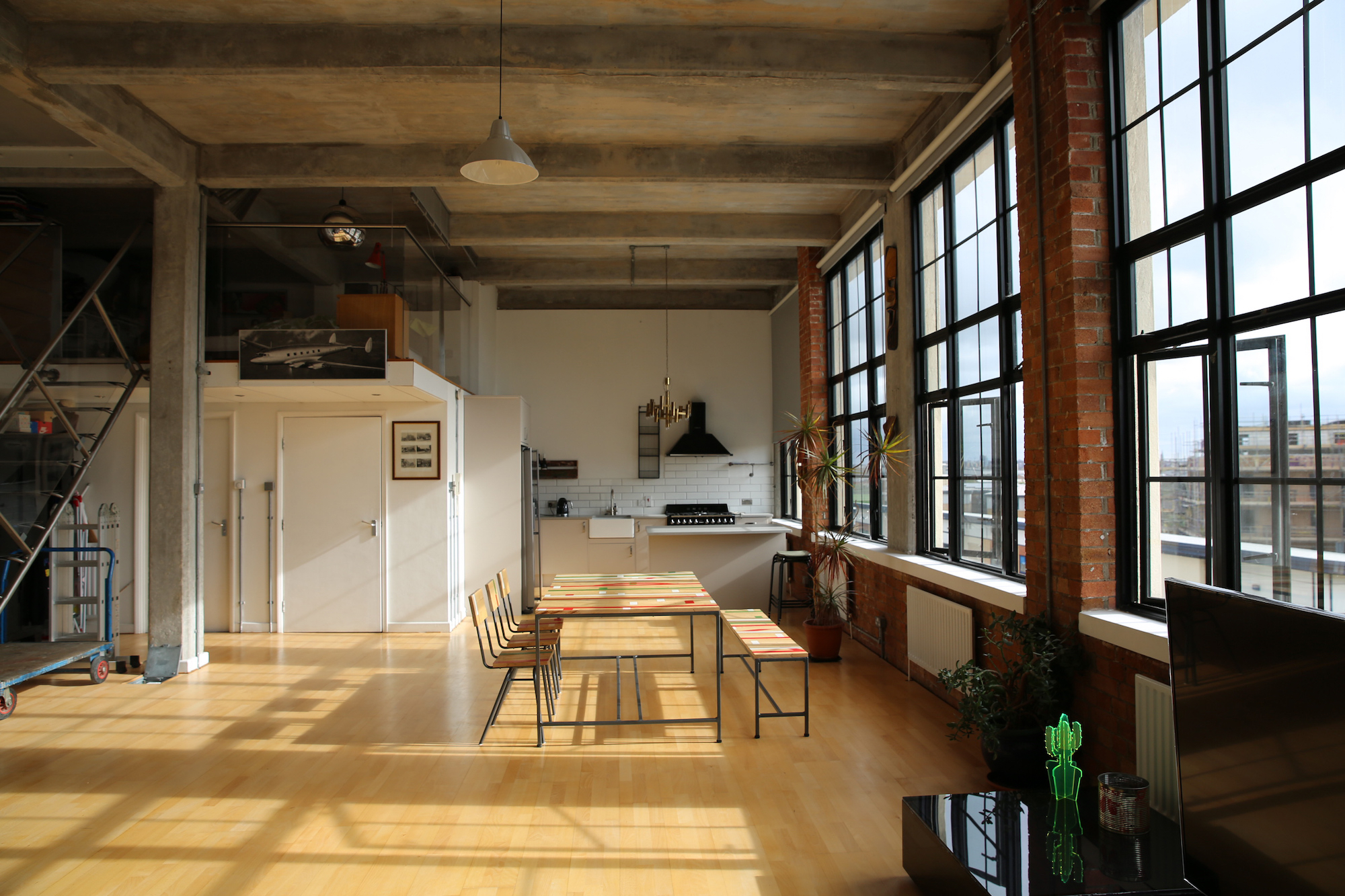 Povey London E5 Warehouse Apartment Shoot Location