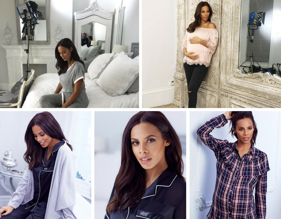 Very fashion photo shoot with Rochelle Humes