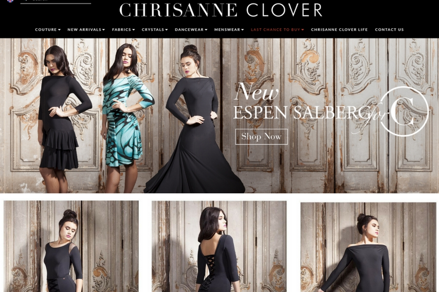 Chrisanne Clover Dance Couture Photo Shoot at Lordship London