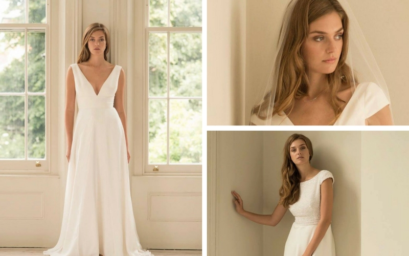 Andrea Hawks Bridal Photo Shoot in London