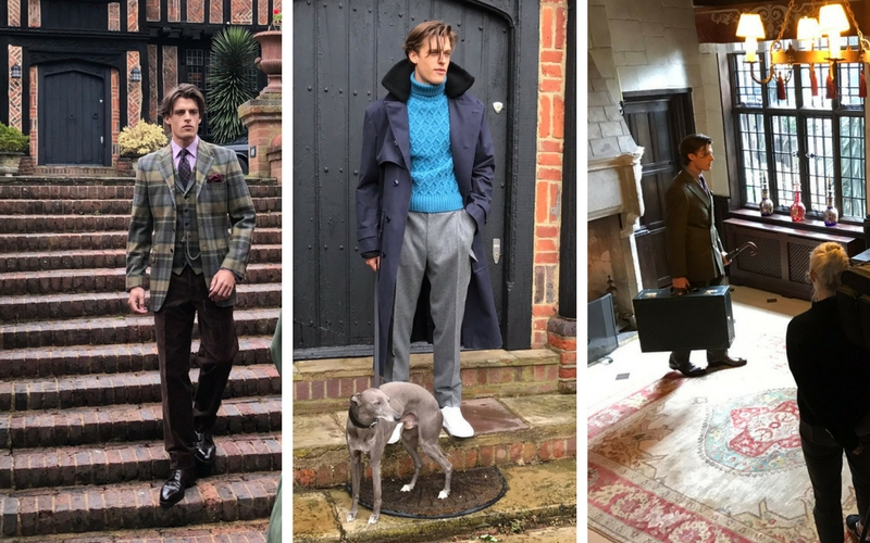 New & Lingwood Autumn-Winter 2017 Campaign Shoot