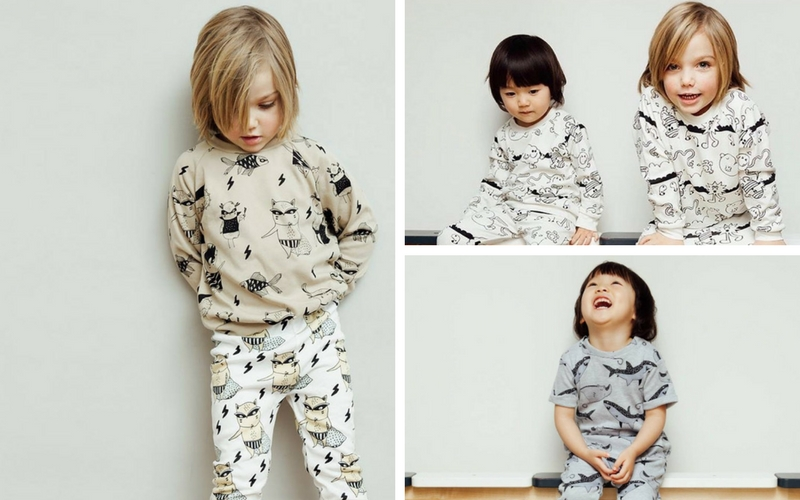 Tobias & the Bear Kids Clothing Photo Shoot in London