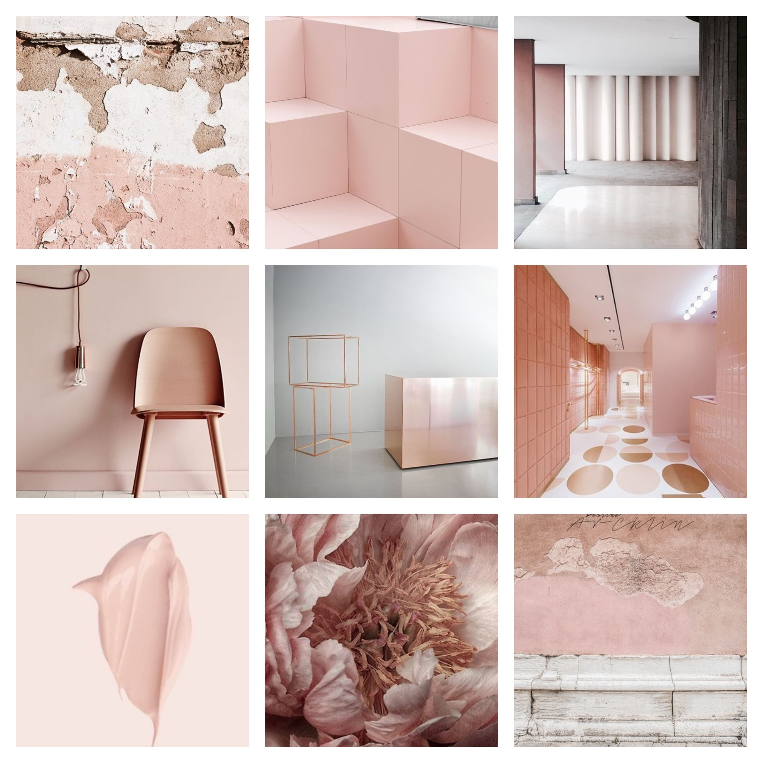 Shades of pink are this season go to hue