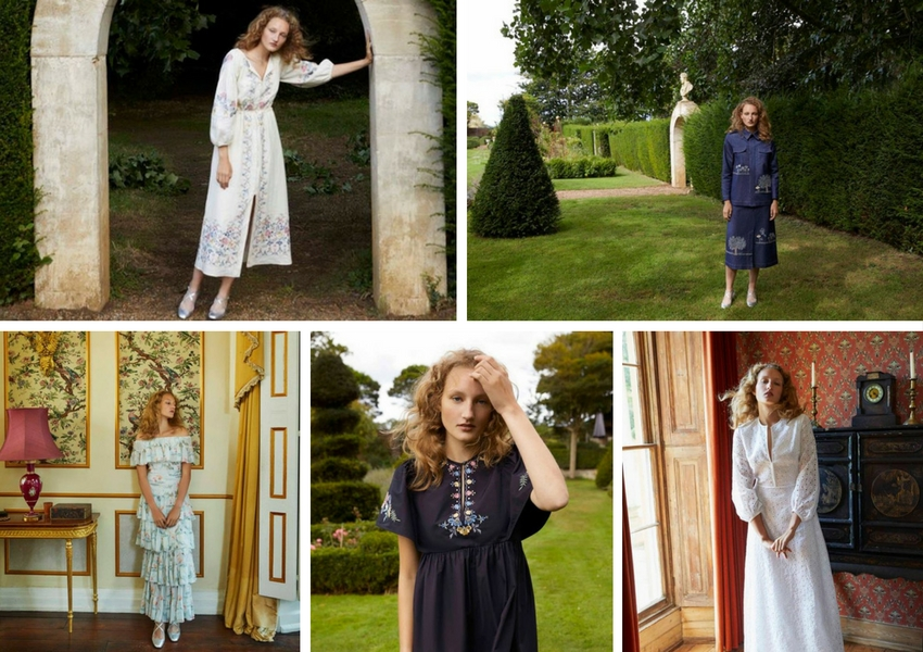 Vilshenko Shoot, Spring Summer 2018 Collection in Surrey