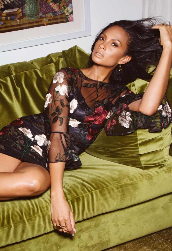 Little Black Dress, Fashion Lifestyle Shoot Featuring Alesha Dixon