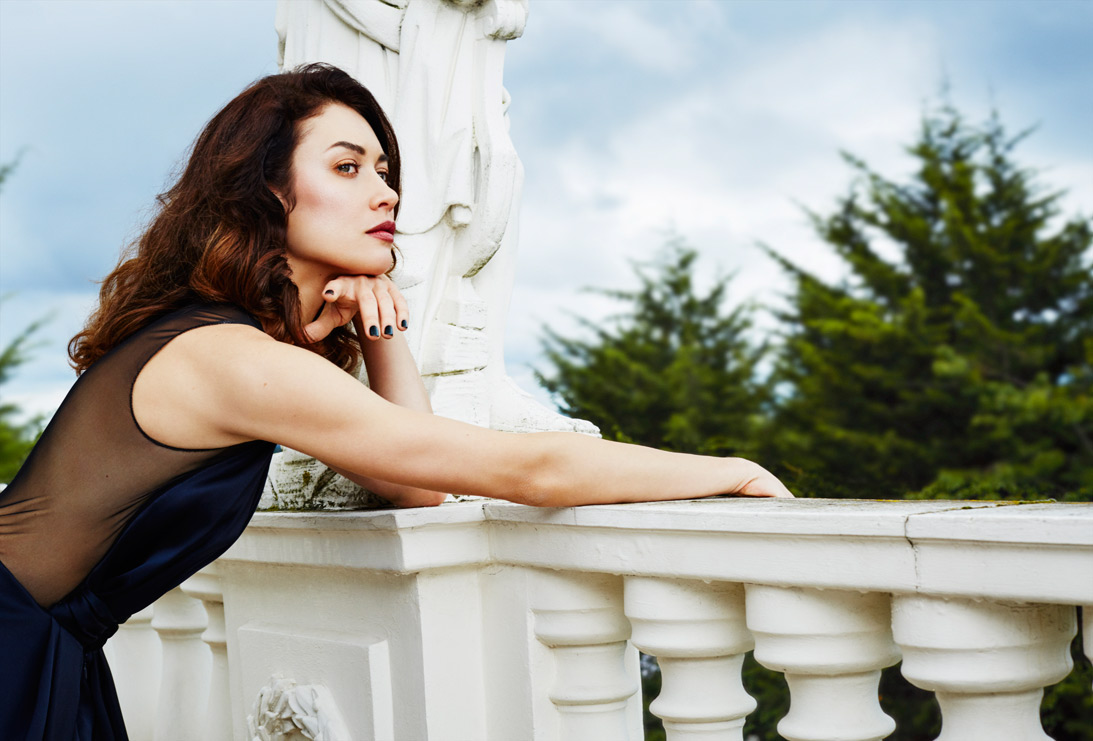 Harper's BAZAAR Malaysia shoot with the former Bond Girl Olga Kurylenko