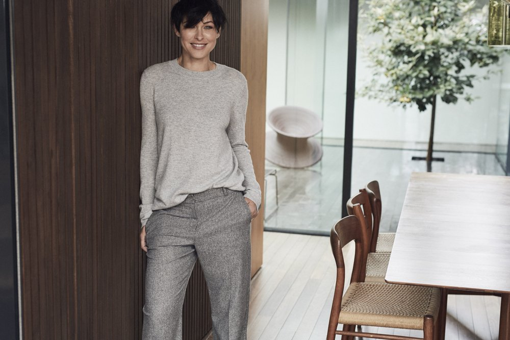 Next Fashion lifestyle shoot featuring Emma Willis