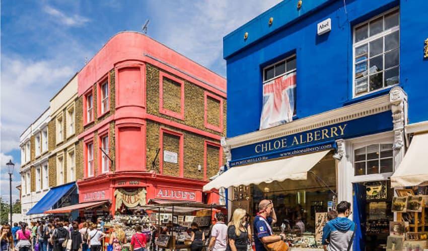 Portobello Road - London Instagram Locations - Shootfactory