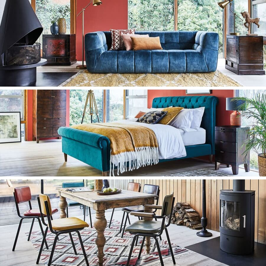 Barker & Stonehouse New Spring Look Photo Shoot at our 'Berkhamsted' Location House