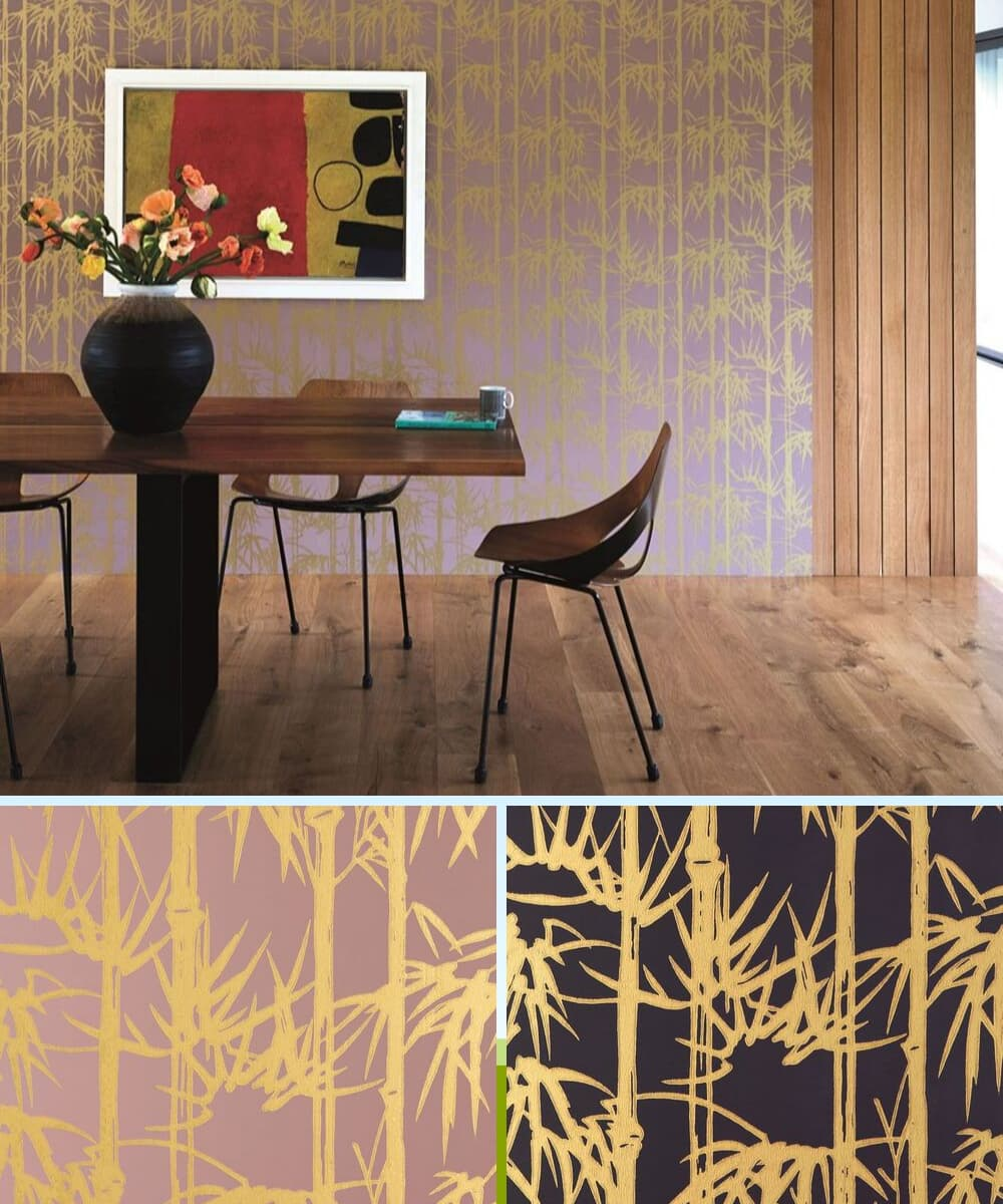 Farrow & Ball Bamboo Wallpaper Photo Shoot - Shootfactory
