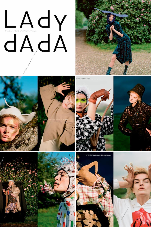 Lady Dada Mixte Magazine Cover Shoot - Shootfactory