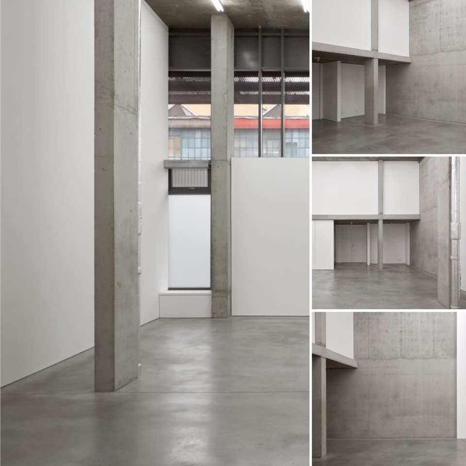 Concrete Studio Location used for Mallet Footwear Photo Shoot - Shootfactory