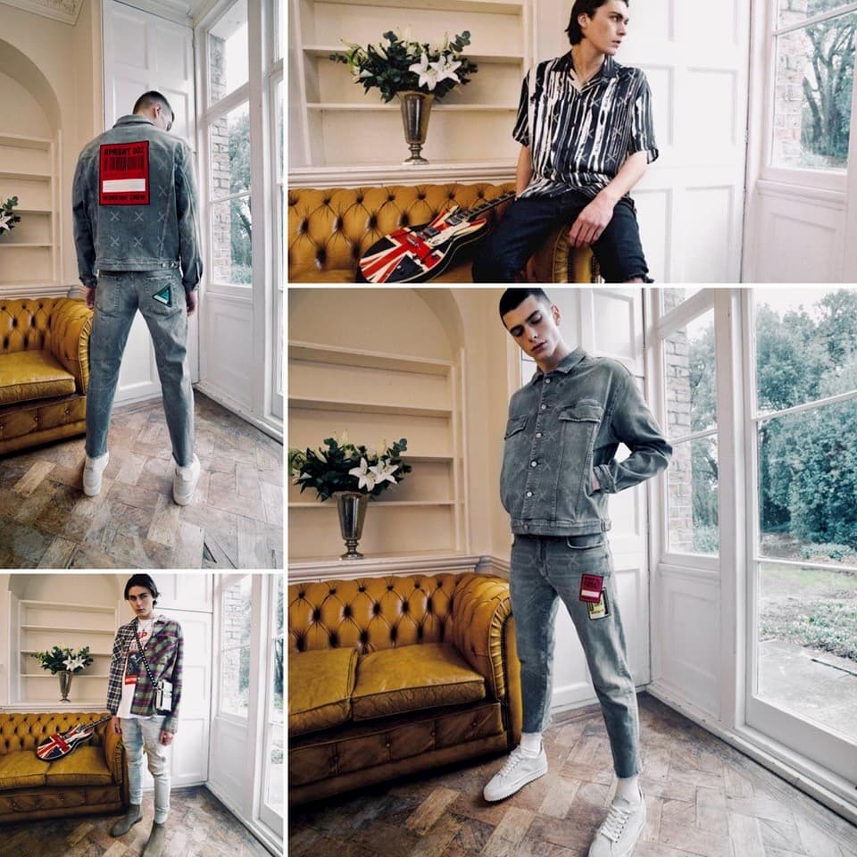 Represent Mens Fashion Shoot on Location - Shootfactory