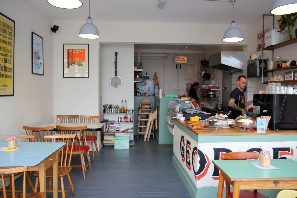 Crofton cafe london se coffee shop location